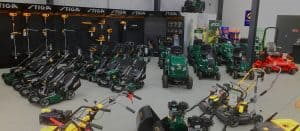 sales and hire page header - image of country services showroom of products
